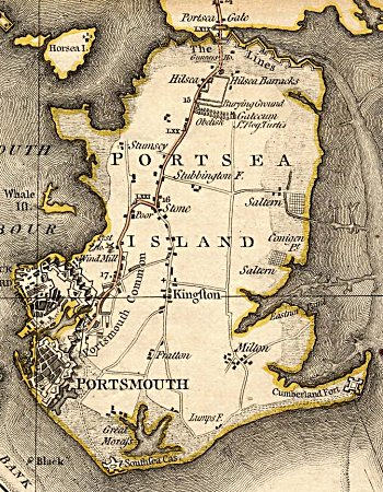 James Milne map of 1791